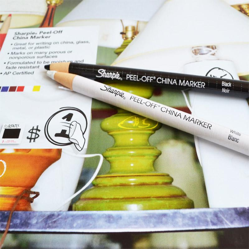 ÃÀ¹úÈý¸£ÌÕ´É¼ÇºÅ±Ê Ö½¾íÀÏß±ÊÀ¯±Ê²ÊɫǦ±Ê ¿É°þÏßÌõÉè¼Æ±Êsharpie peel-off marker